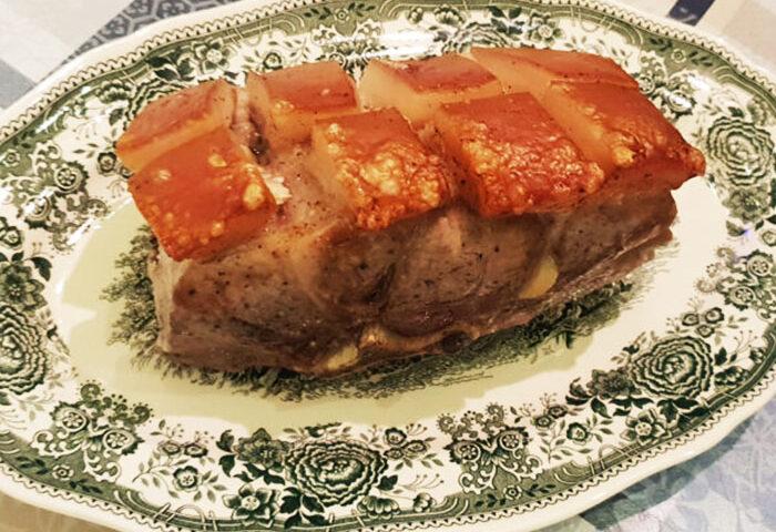запечённая свинина