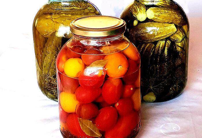 помидоры компотные на зиму