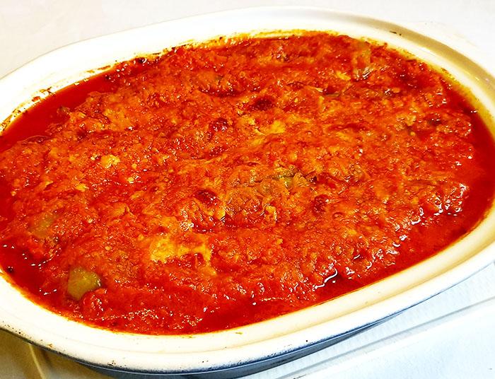 рецепт тонких перцев в томатном соусе