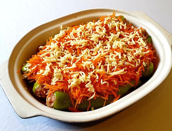 рецепт перцев в соусе