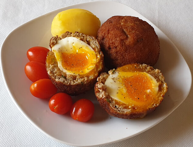 яйца в фарше